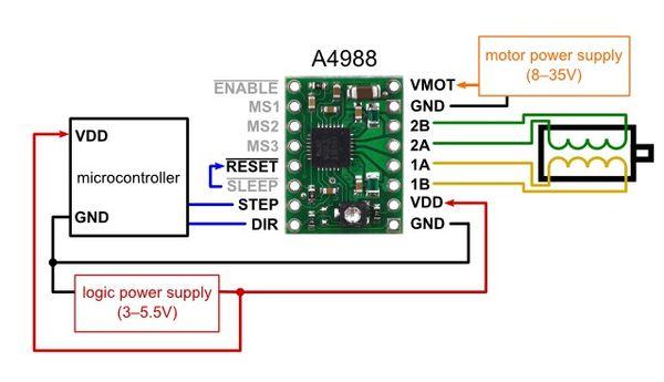 4 motor parallel wiring diagram