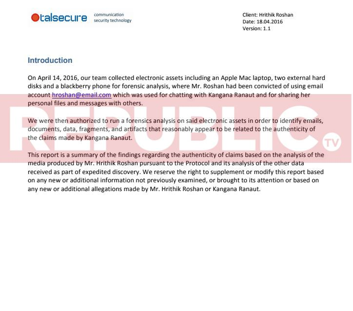 READ The complete digital forensic report submitted by Hrithik - forensic report