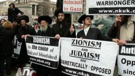 Zionism is Anti-Semitic