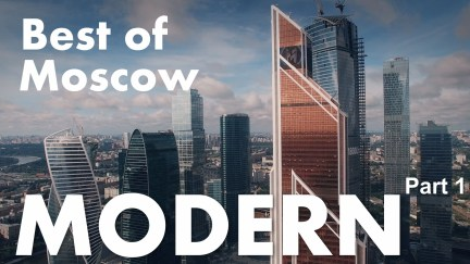 Moscow aerial tour