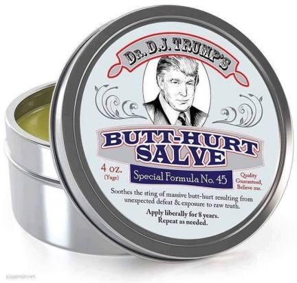 Dr. Trump Butt-hurt Salve