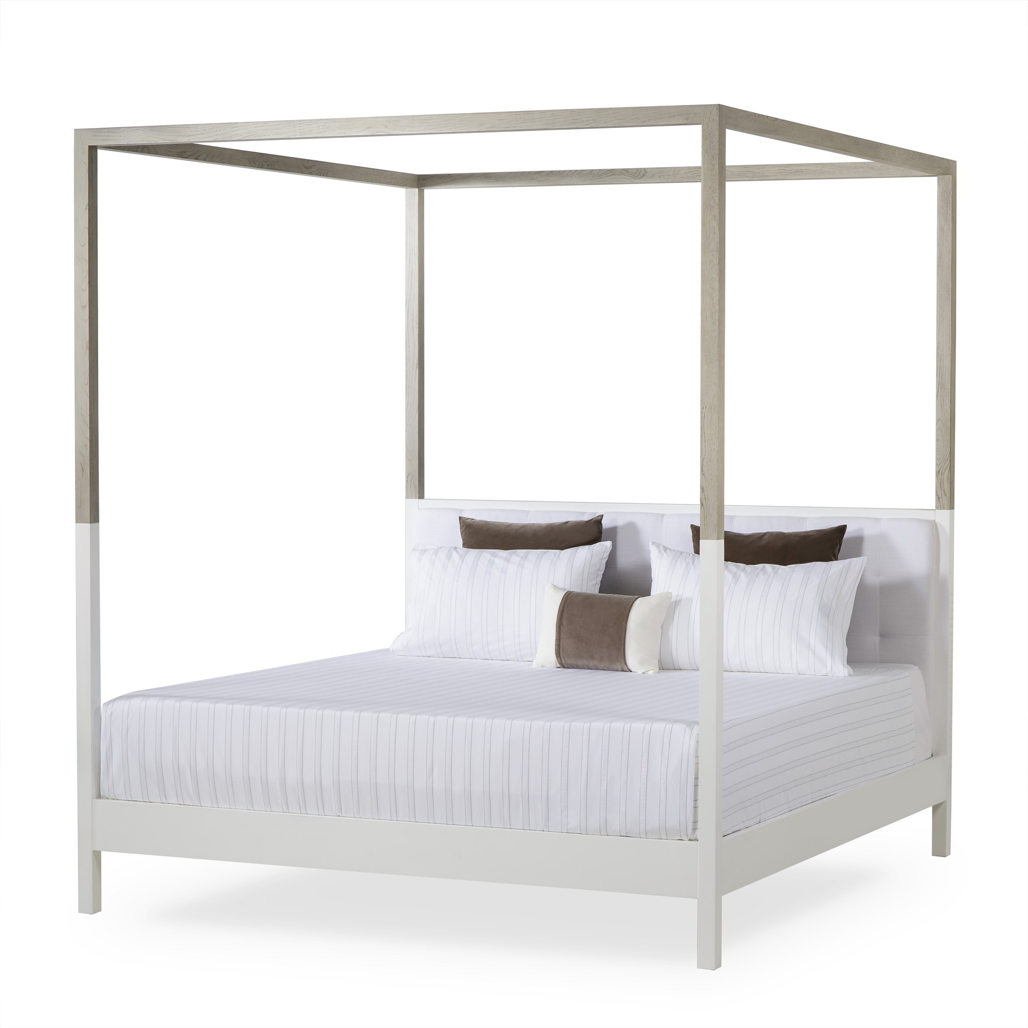 White Four Poster King Bed Duke Poster Bed Us King Warm White Duke Collection