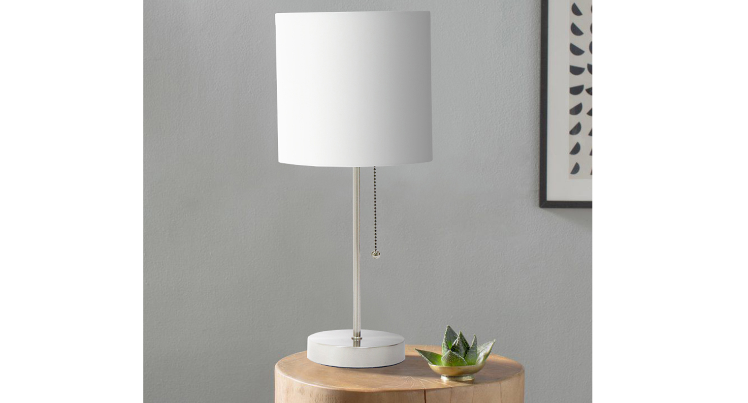 Table Metal Blanc Lampe De Table En M Tal Blanc 19x19x42 4b Table Lamps Lampes De