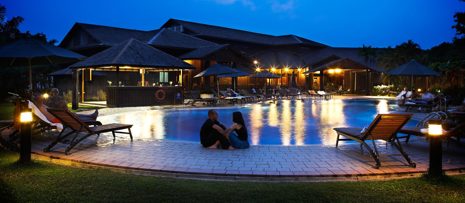 Resort Retreat Aiman Batang Ai Resort & Retreat Hotel In Malaysia