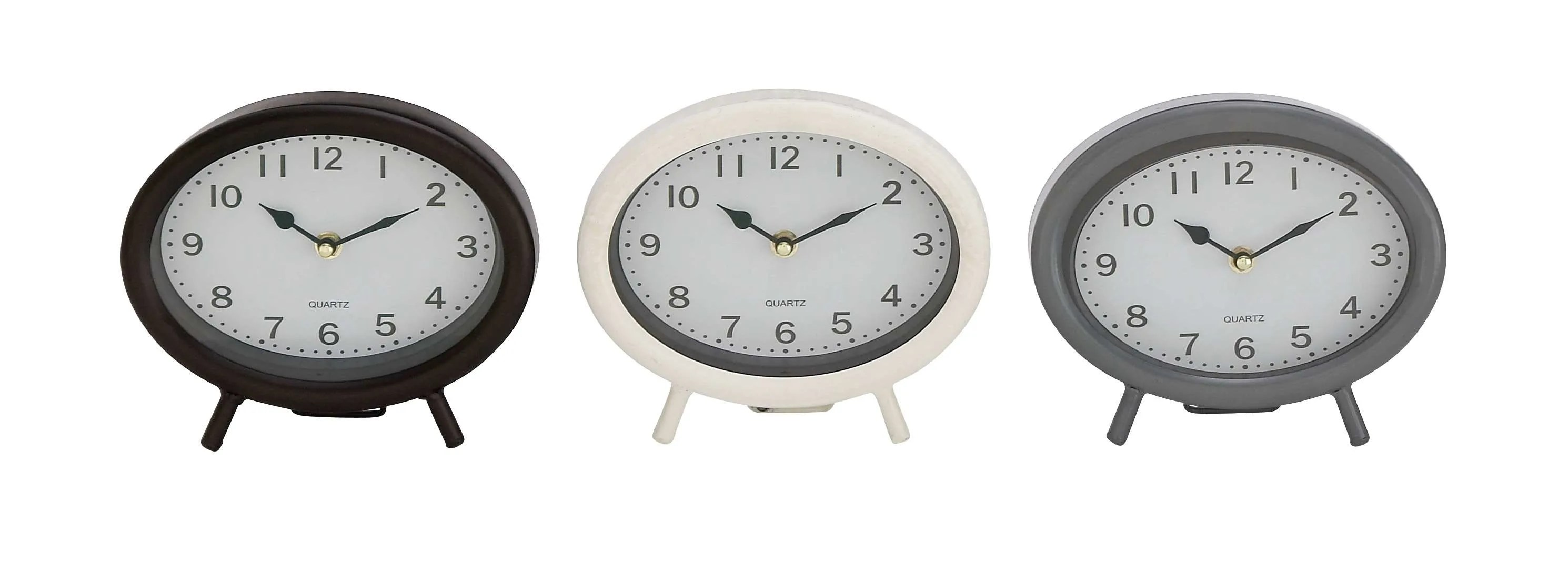 Oval Clock Face Dec Mode Collection 92269