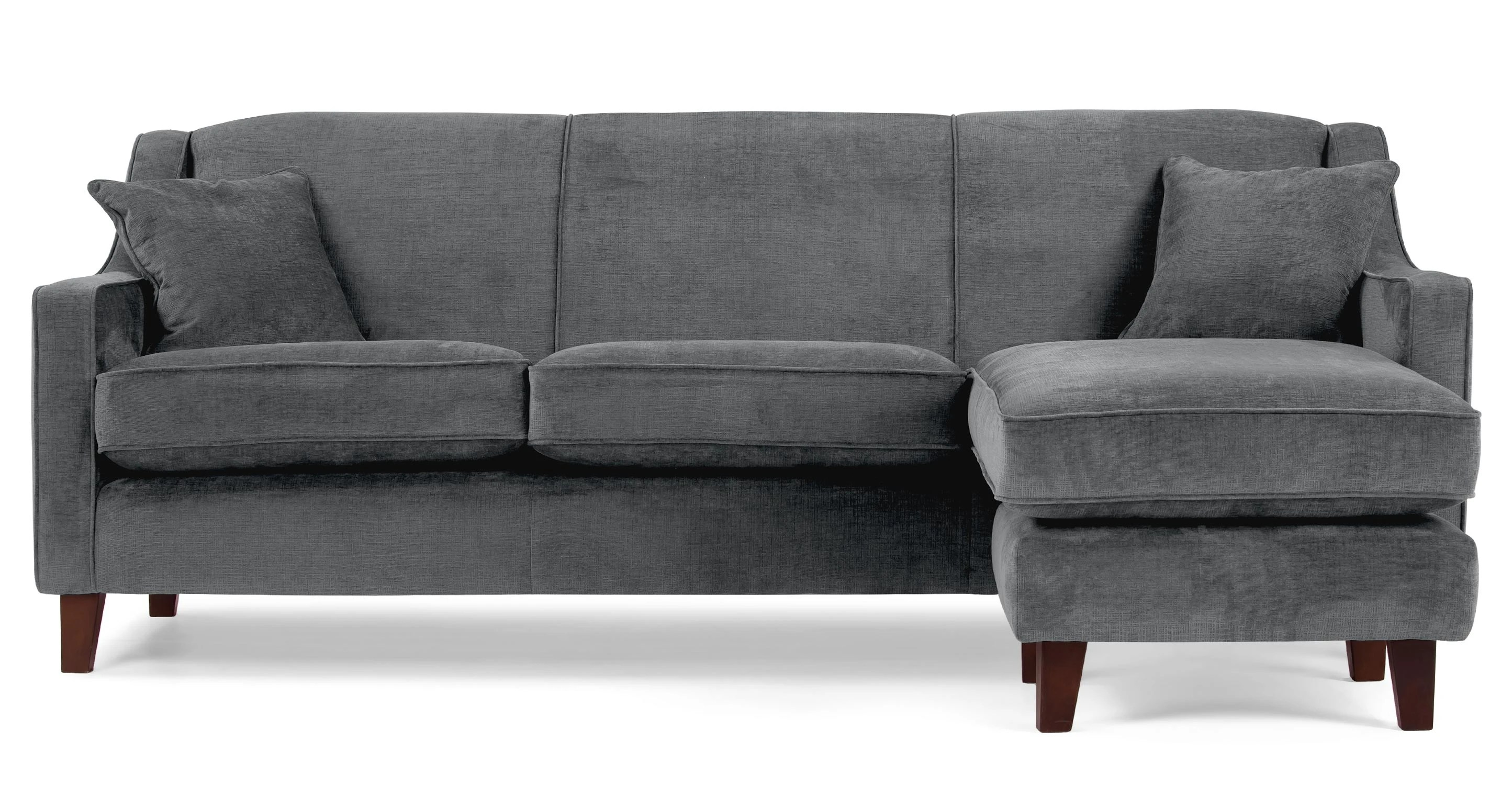 Corner Couch Halston Large Corner Sofa In Dusk Grey Made