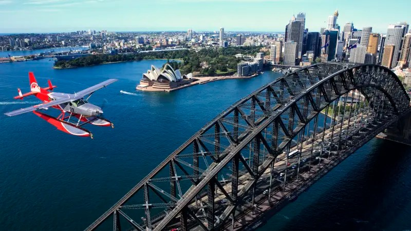 Sydney Seaplane Flight With Romantic Beach Picnic For 2