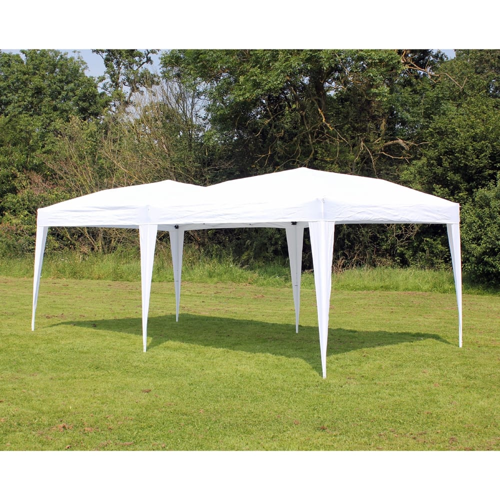 Pop Up Canopy Palm Springs 10 X 20 Ez Pop Up Canopy No Sidewalls