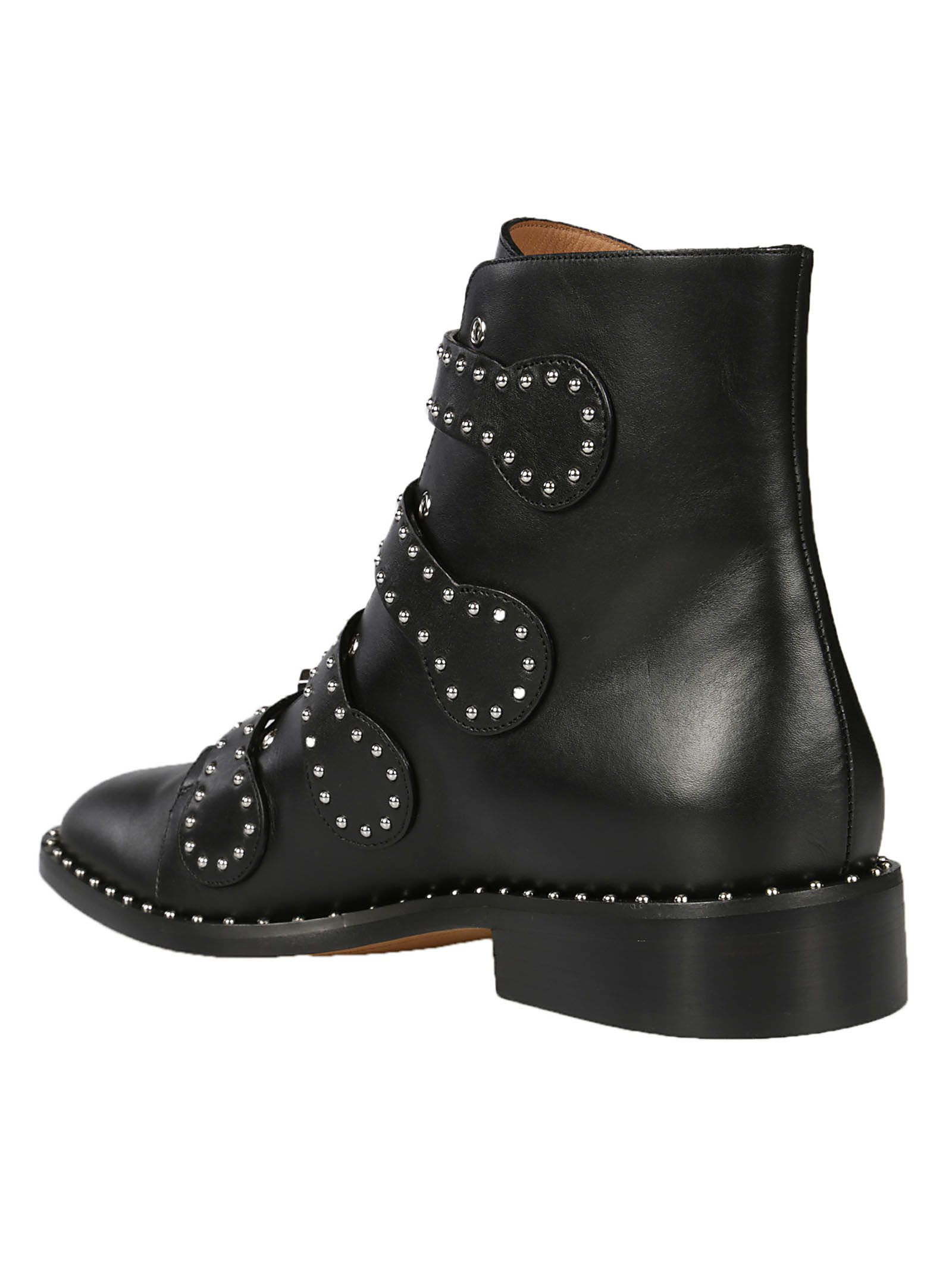 Givenchy Givenchy Rivets Ankle Boots Black Women39s