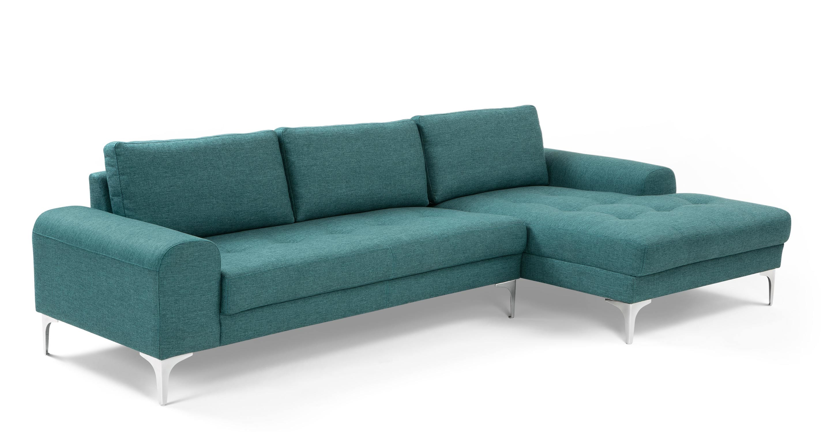 Rh Cloud Sofa Vittorio Right Hand Facing Corner Sofa Group Teal Made