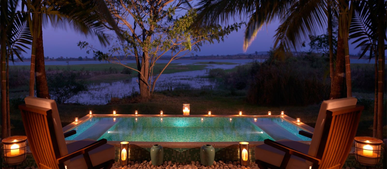 Jacuzzi Pool India The Serai Kabini Hotel In South India Enchanting Travels
