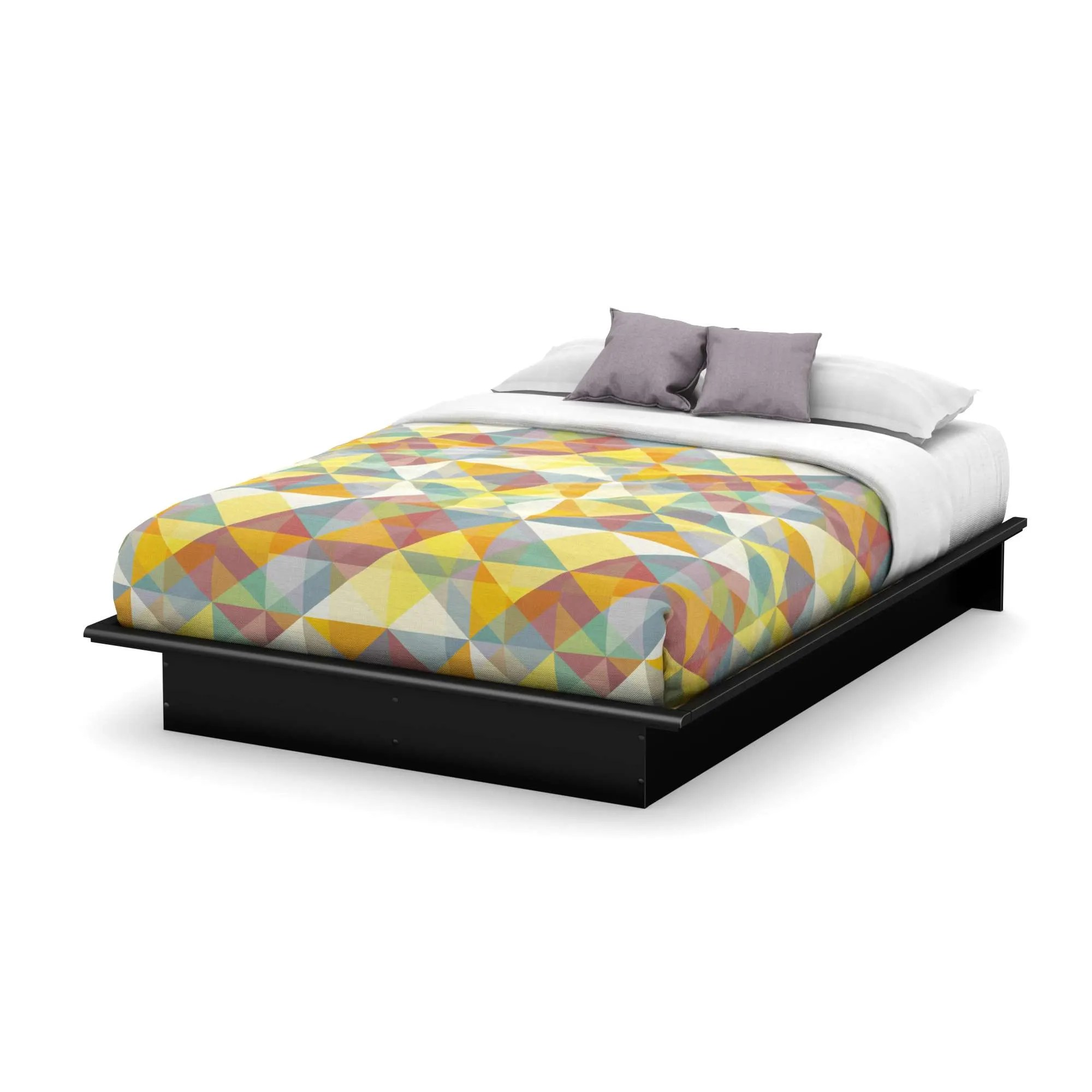 Is A Platform Bed Comfortable South Shore 3070233