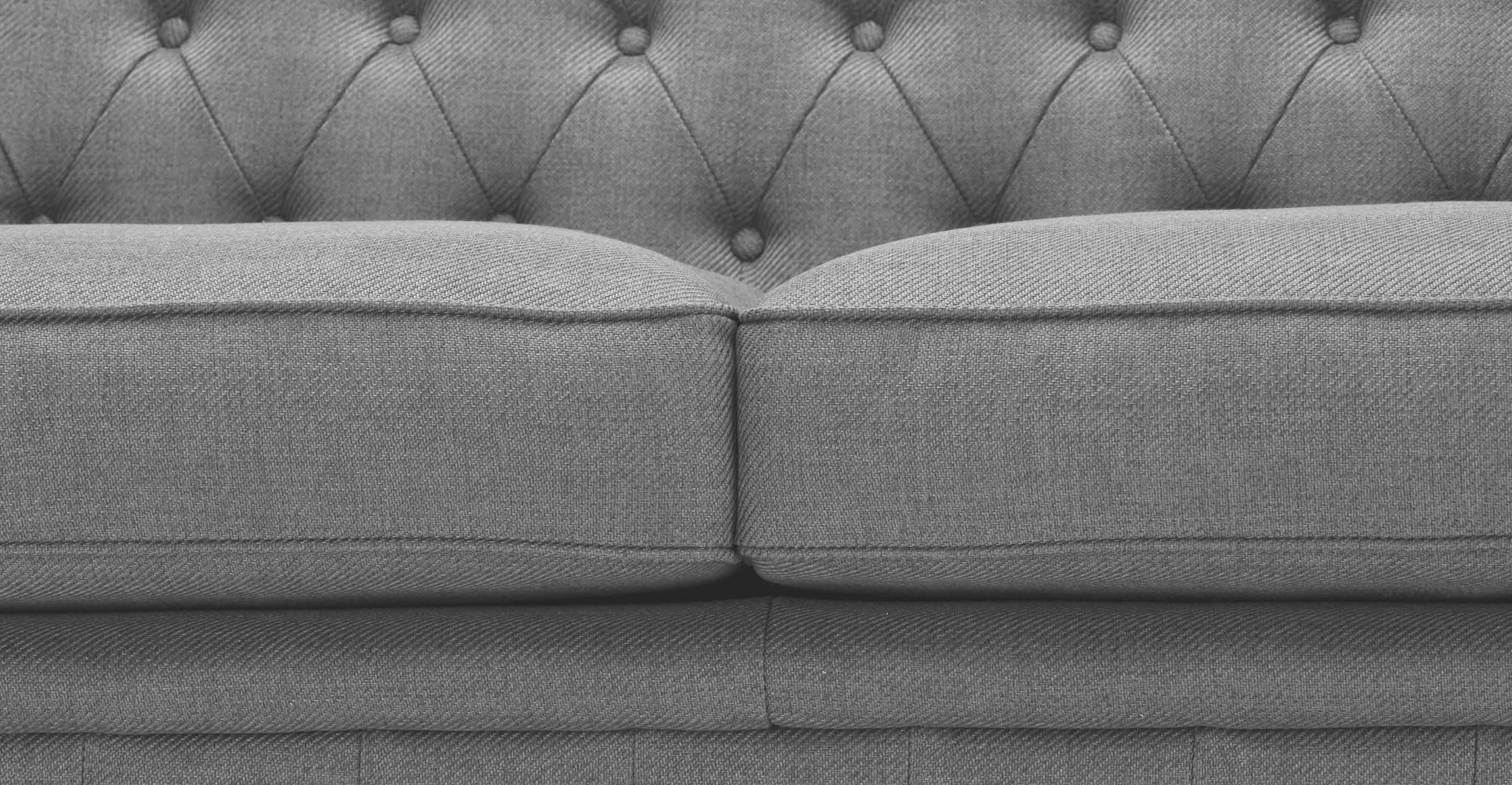 Chesterfield Sofa Texture Branagh 3 Seater Grey Chesterfield Sofa Made