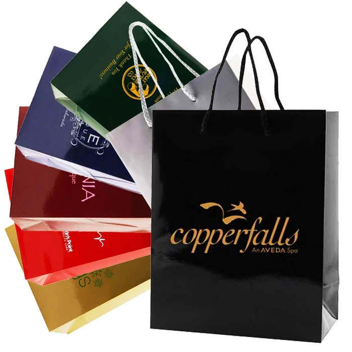 Printable Paper Bags - Imprintable Bags SilkLetter