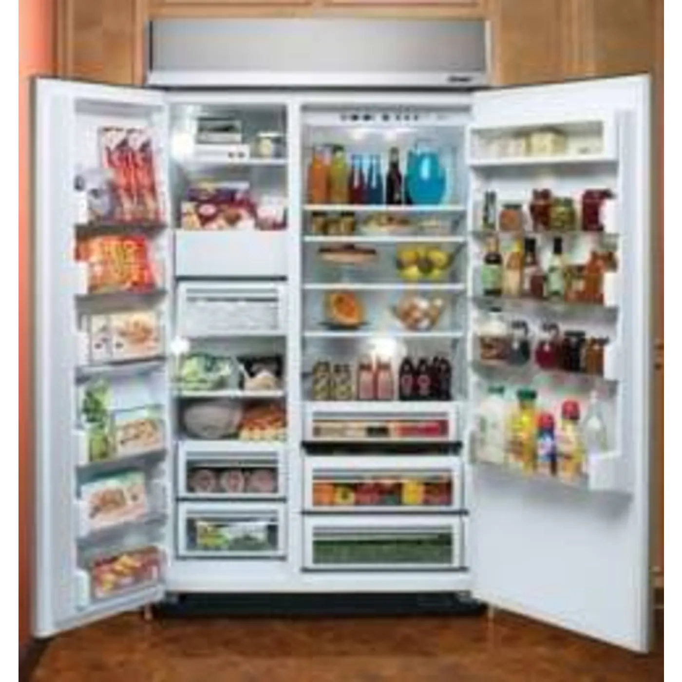 Kuche Bar Fridge Review Dacor Ef48dbss Discovery 48 Quot 29 7 Cu Ft Stainless Steel