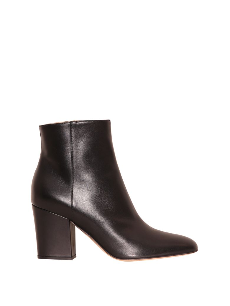 Sergio Rossi Virginia Leather Boots Nero 8962503 Italist