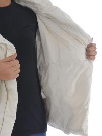 Theory - Theory Shawl Collar Down Jacket - Panna, Women's ...