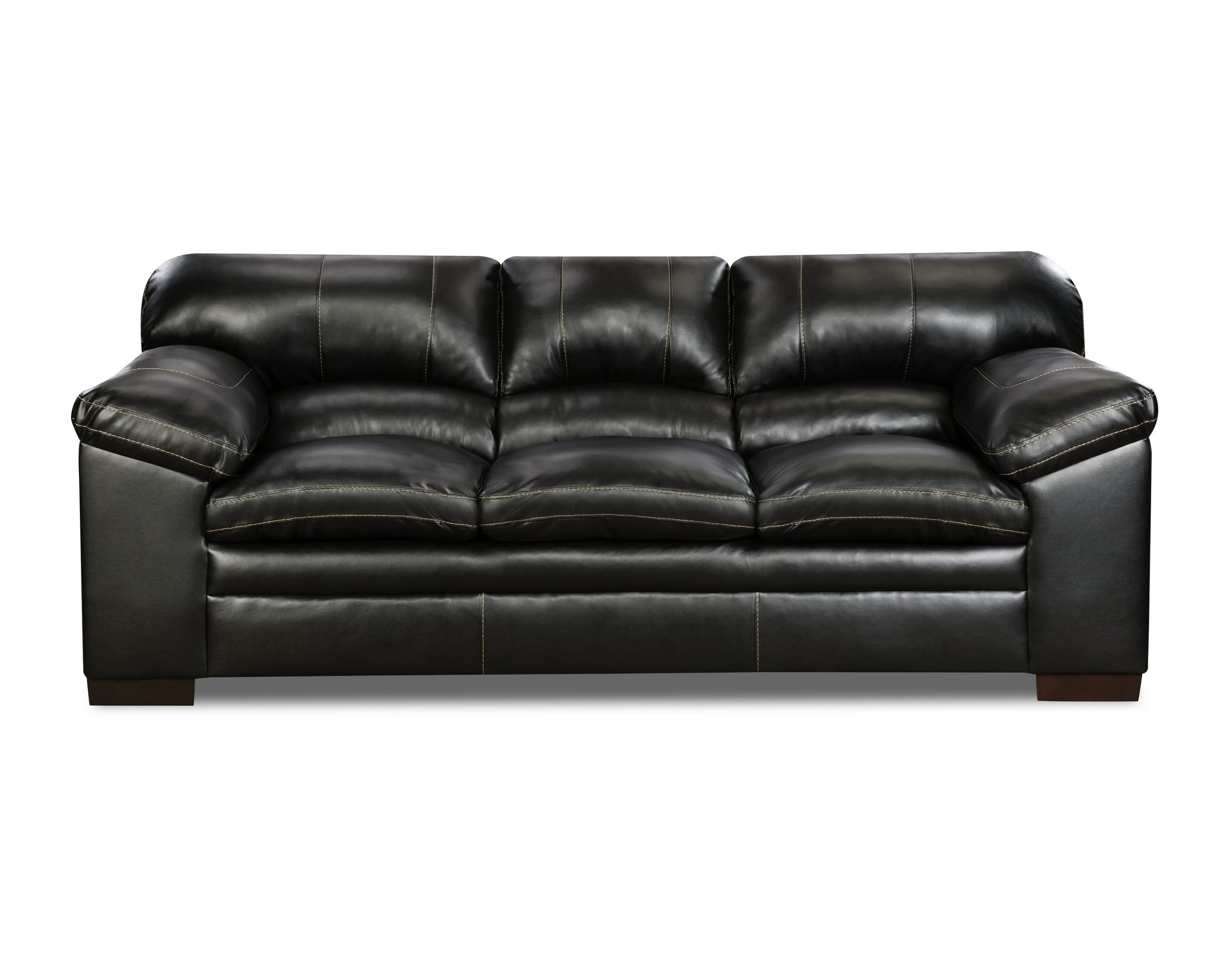 Review 4x6 Sofa Simmons Upholstery 8049 03 Yahtzee Onyx