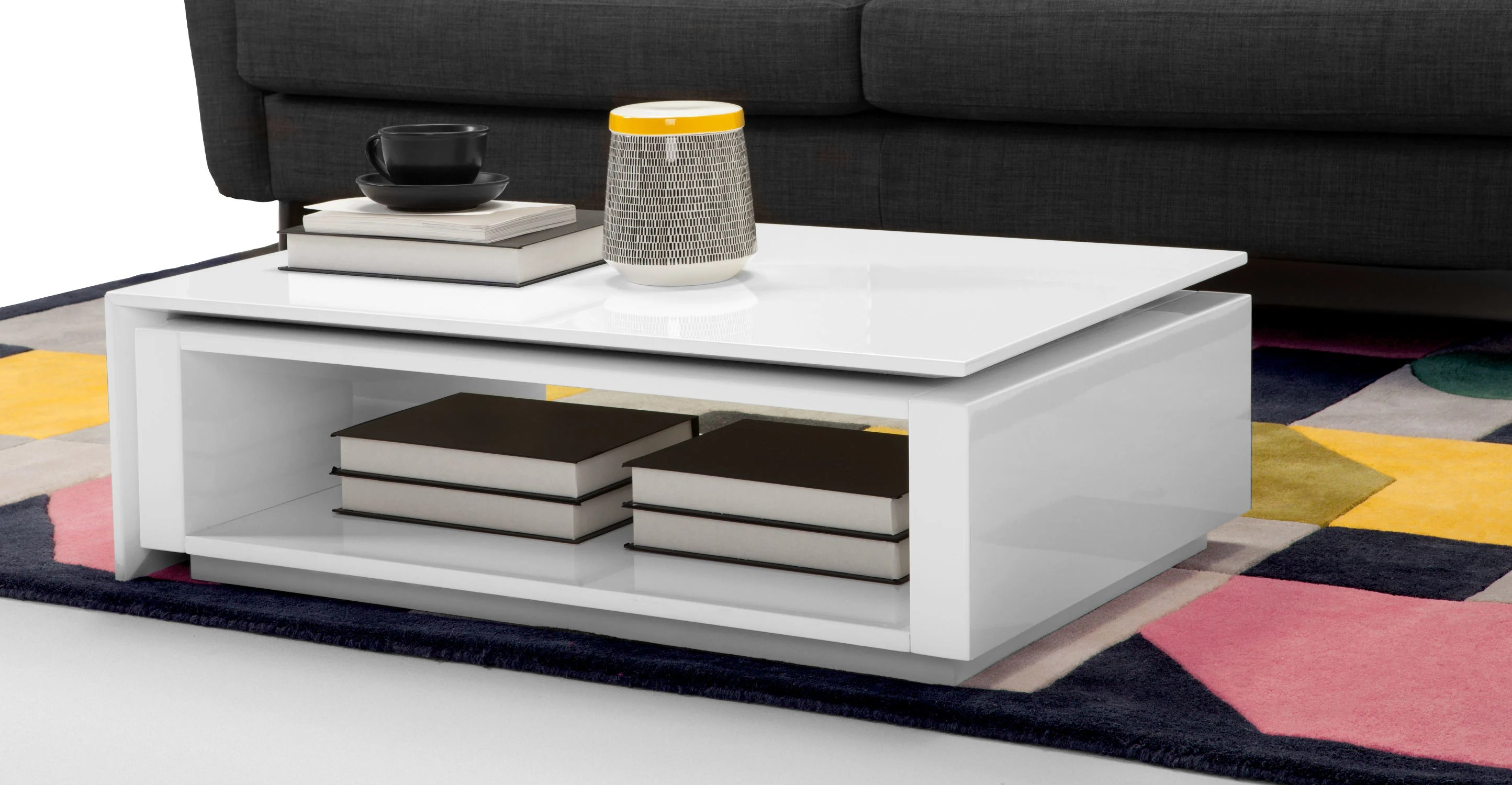 Couchtisch Flippa Made Com Table Basse. Lomond Table Basse Modulable Avec