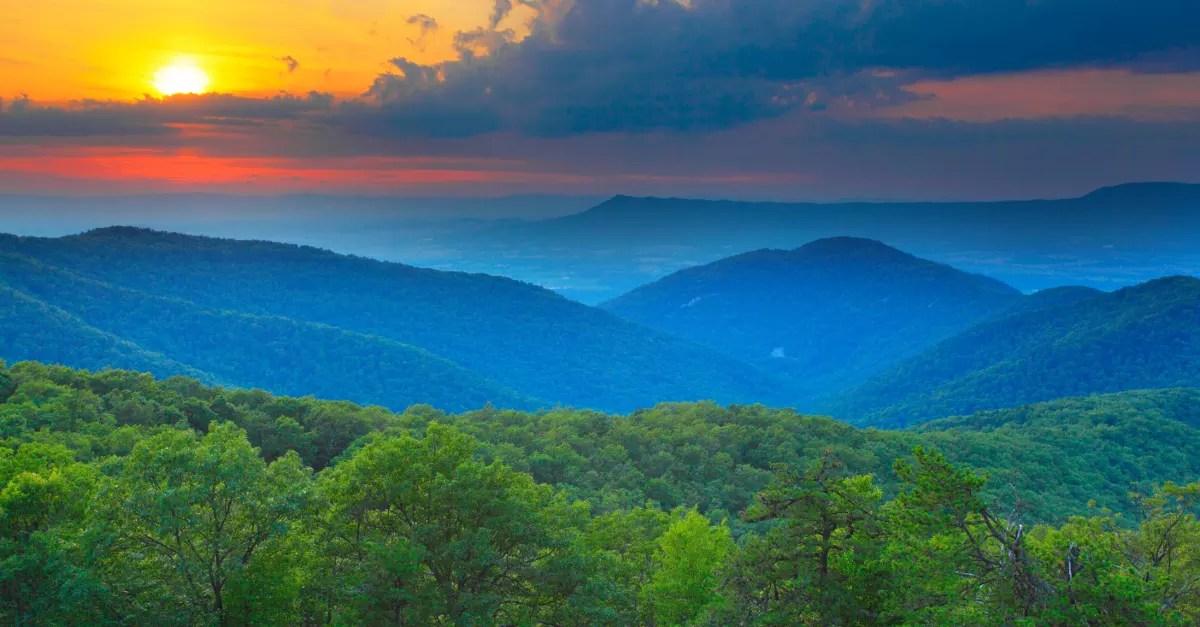 Fall Smoky Mountains Wallpaper Blue Ridge Mountains Roanoke Va