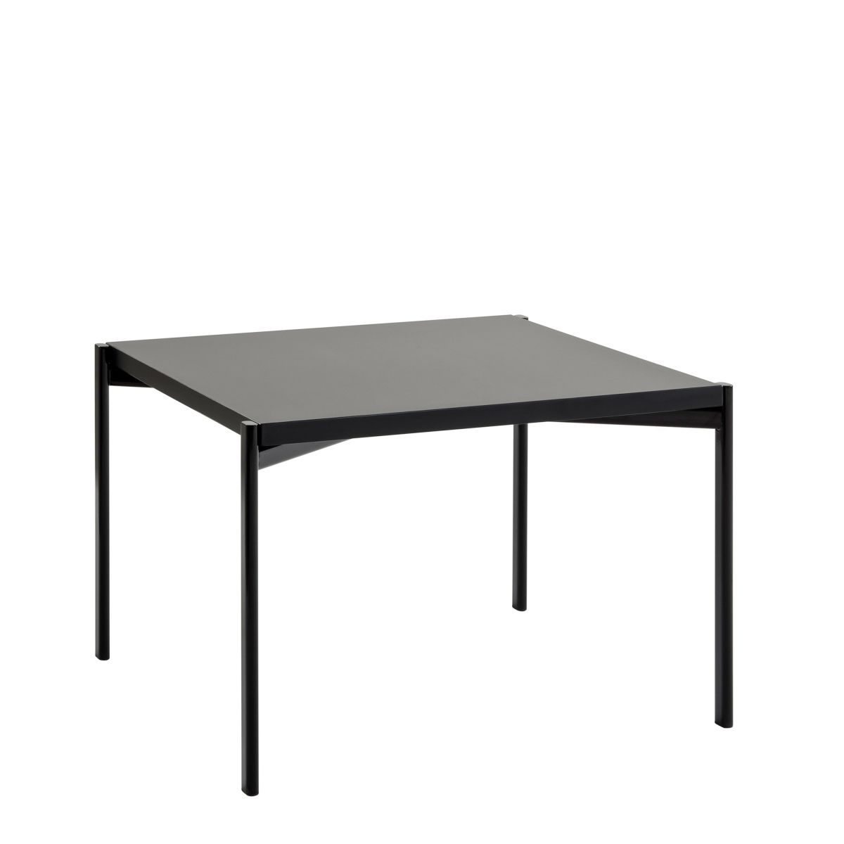 Low Black Table Artek Kiki Low Table