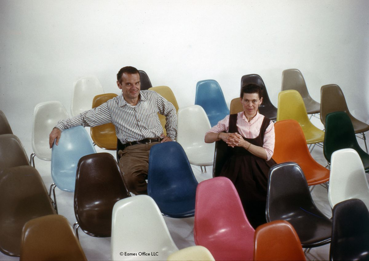 Ray And Charles Eames Artek Charles Ray Eames At The Vanguard Of Design