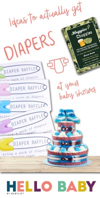 Ideas to Actually Get Diapers at Your Baby Shower