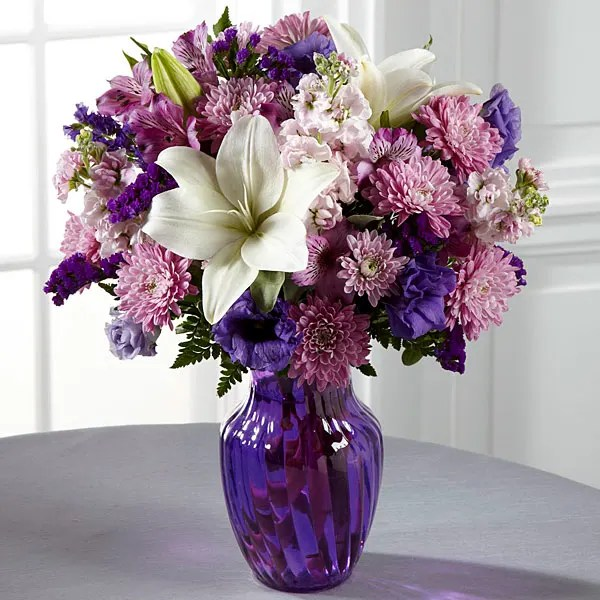 The FTD Shades of Purple Bouquet in Monroe, MI Deb\u0027s Floral Designs