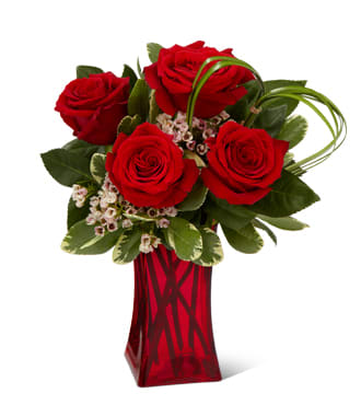 The FTD Rush of Romance Red Rose Bouquet in Perryville, MO Moonier