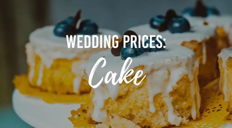 Wedding Cake Prices Wedding Advice Bridebook