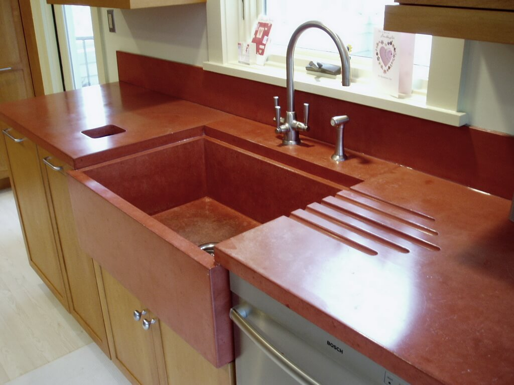 Concrete Countertops Book Engineered Concrete Products Brooks Custom