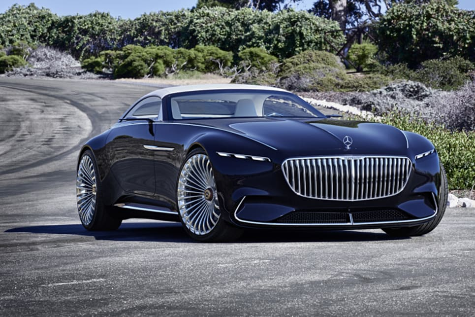 Vision Mercedes Maybach 6 Cabriolet Unveiled At Pebble