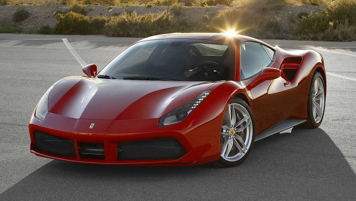 Fastest Car In The World Wallpaper Ferrari 488 2015 Review Carsguide