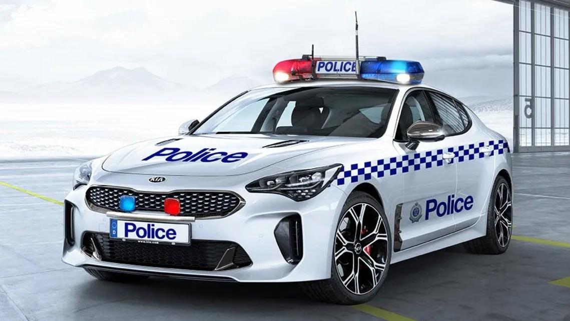 Cop Car Wallpaper Kia Stinger Gt On The Cards For Australian Police Car