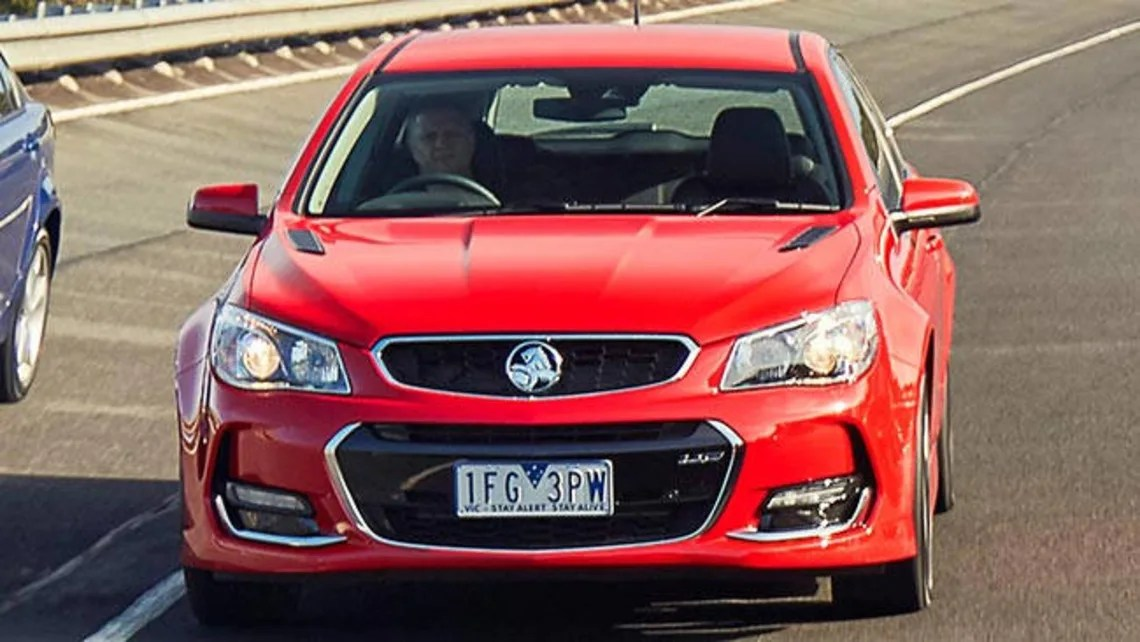 Vfii Holden Commodore Ss V 2016 Review Carsguide