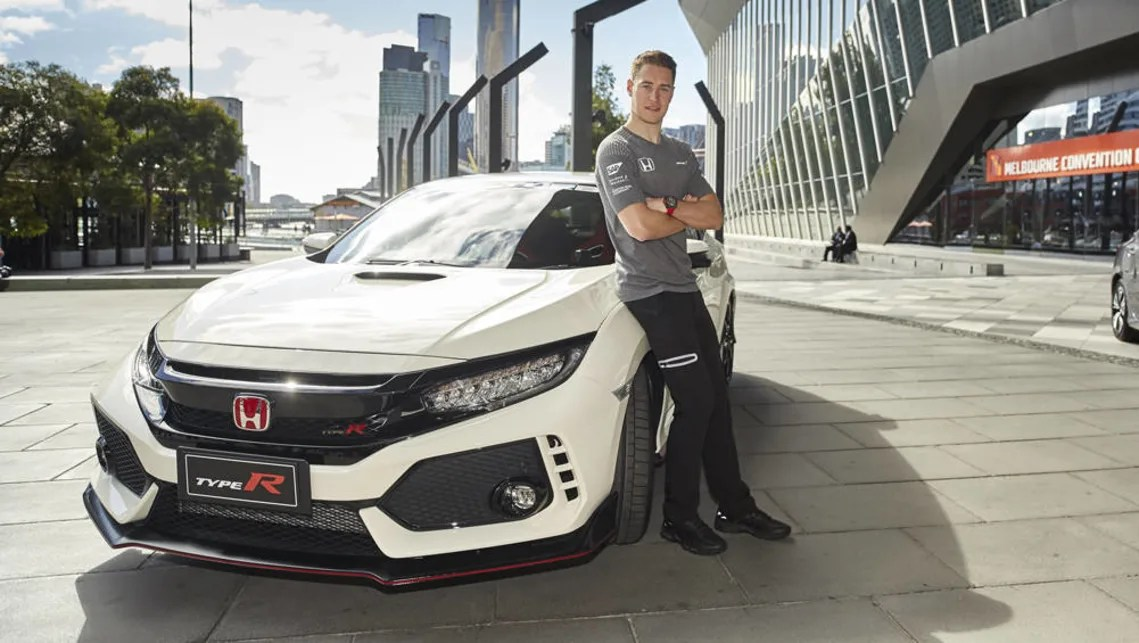 Safety Car Australian Grand Prix 2017 Honda Civic Type R Arrives For Melbourne Grand Prix