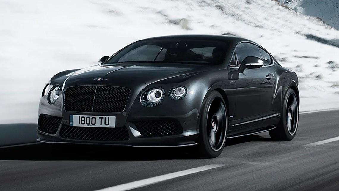Smart Car Wallpaper Bentley Continental Gt V8 S Concours Series Black 2015