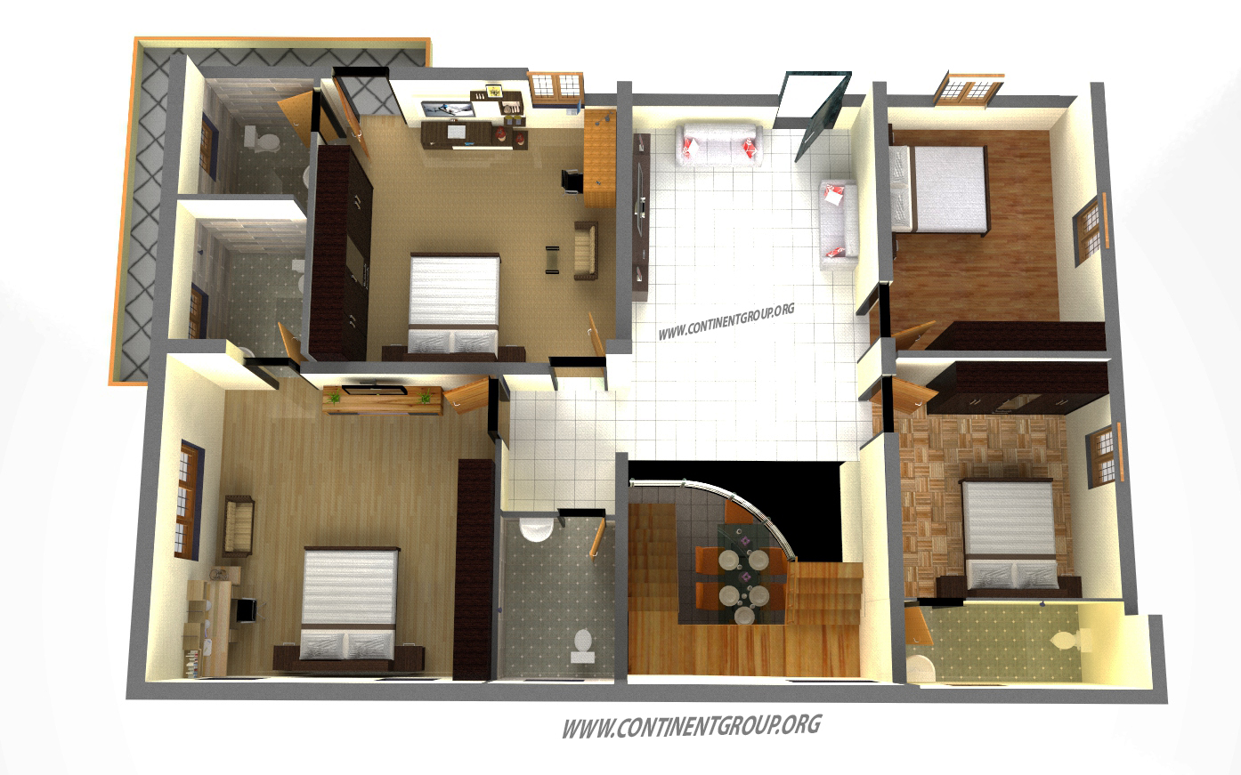 Residential Building Plan In Bangalore Continent Group