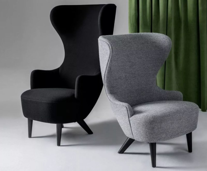 Scenic Wingback Chair From Tom Dixon Wingback Chair Td Black Hero By Tom Dixon Wing Back Chairs Amazon Wing Back Chairs Ebay