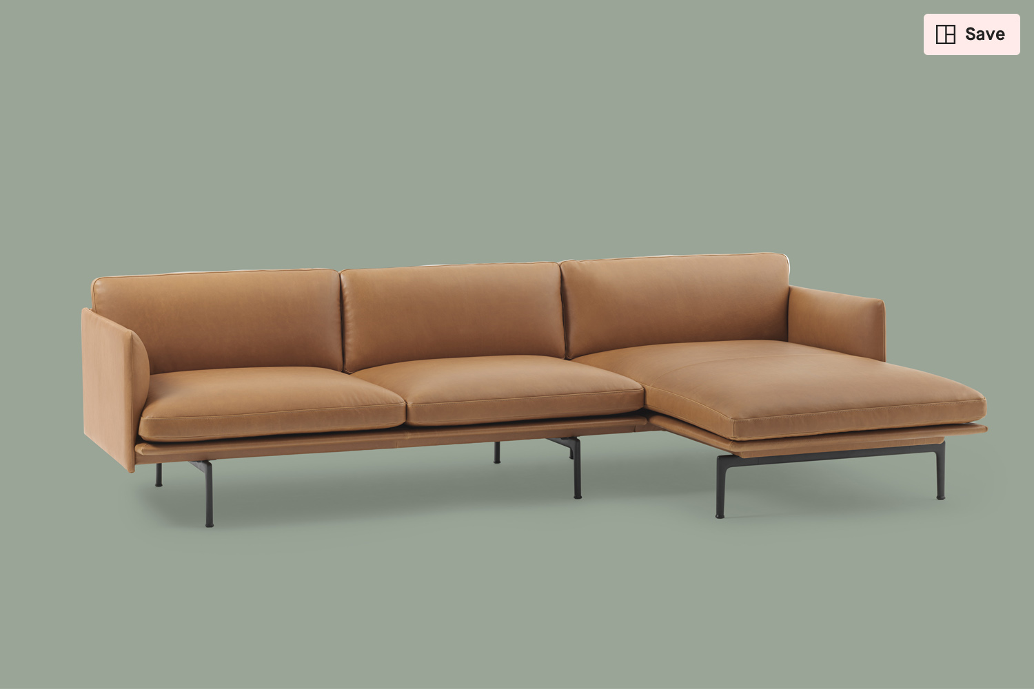 Muuto Oslo Sofa Outline Chaise Longue From Muuto Clippings