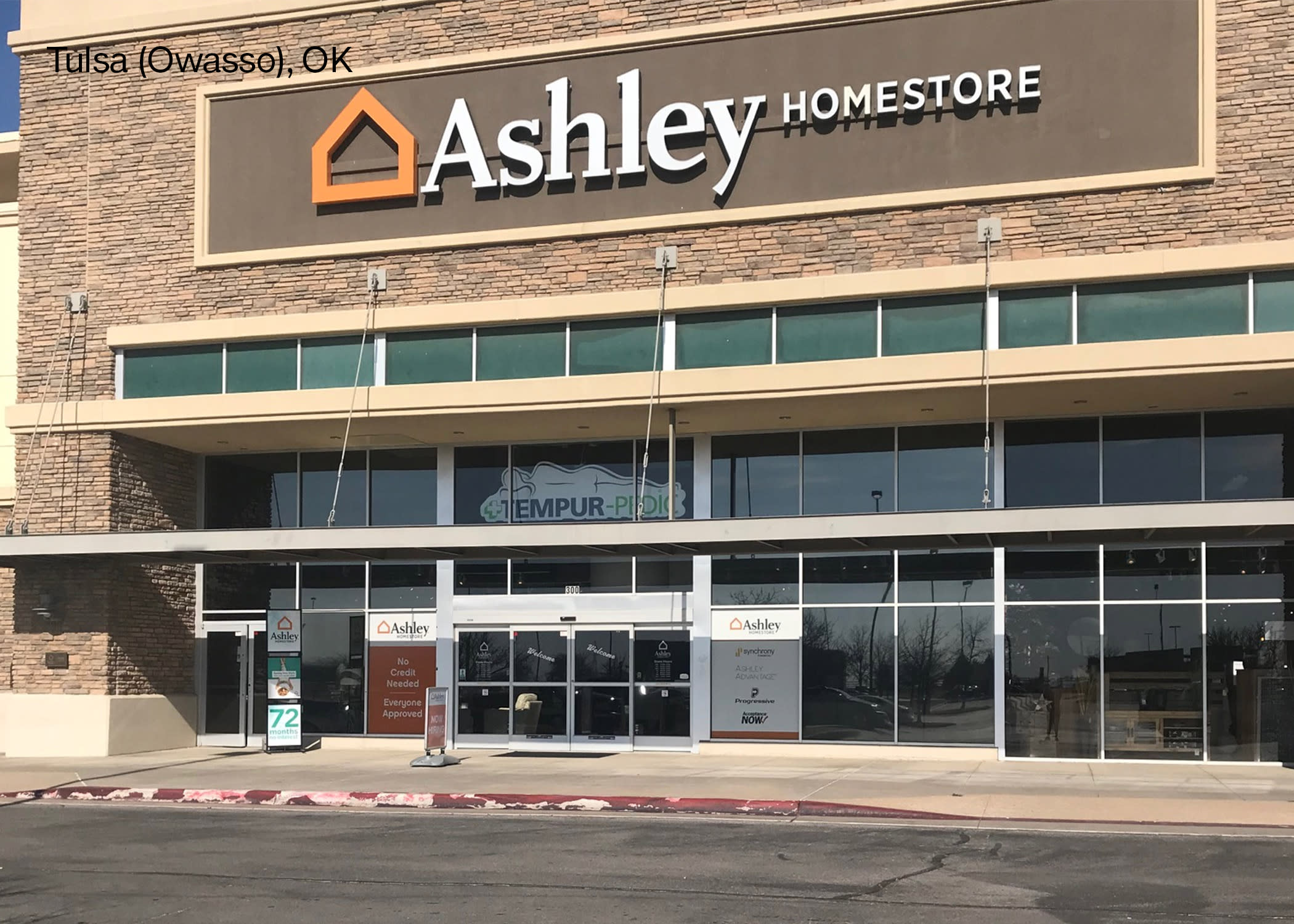 Furniture And Mattress Store At 7831 S Olympia Ave Tulsa Ok Ashley Homestore