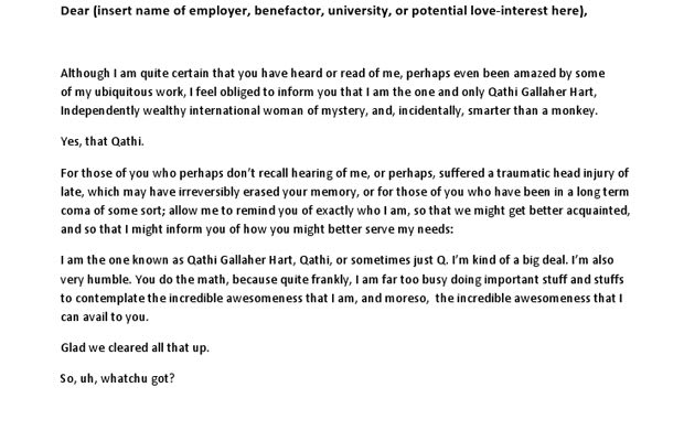 10 Funny Cover Letters We Found On The Internet Complex - do i need a cover letter
