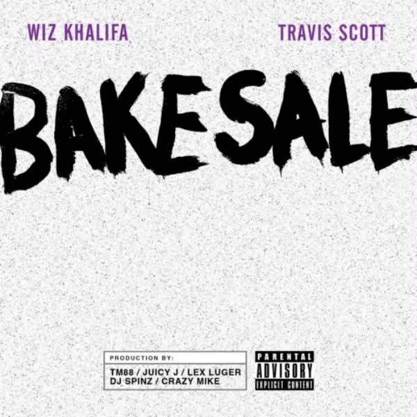 Wiz Khalifa and Travi$ Scott Link on \ - bake sale images
