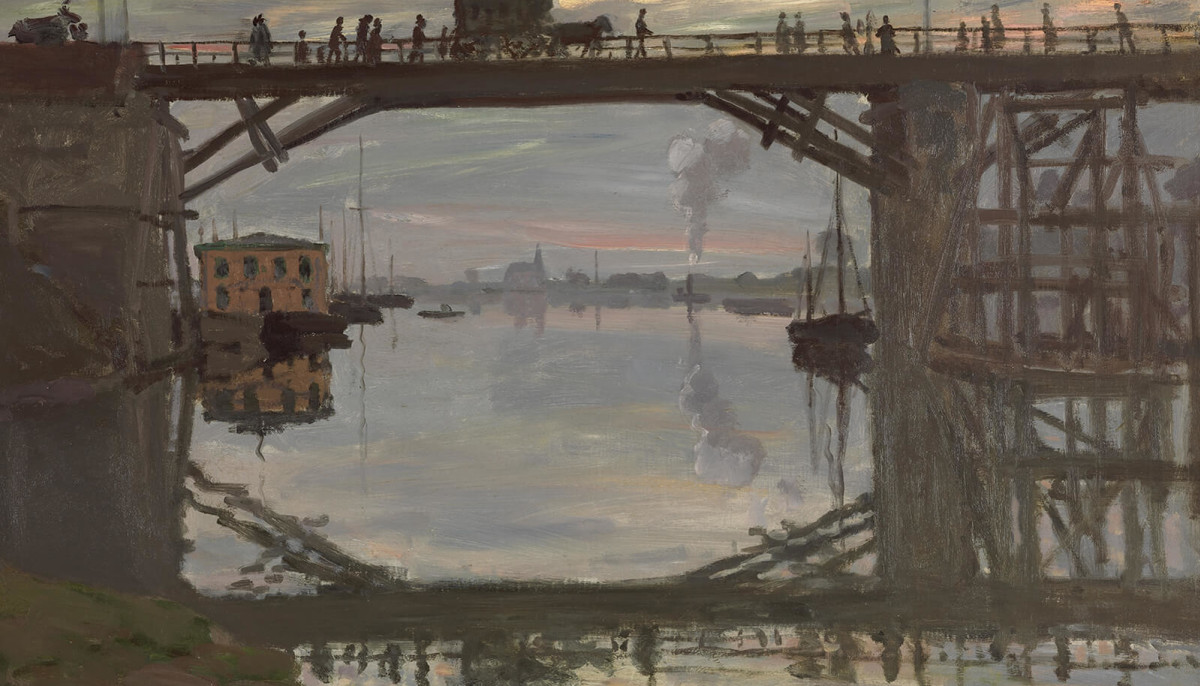 Fly Argenteuil Kimbell Art Museum Presents Between Past And Future Monet S Bridges