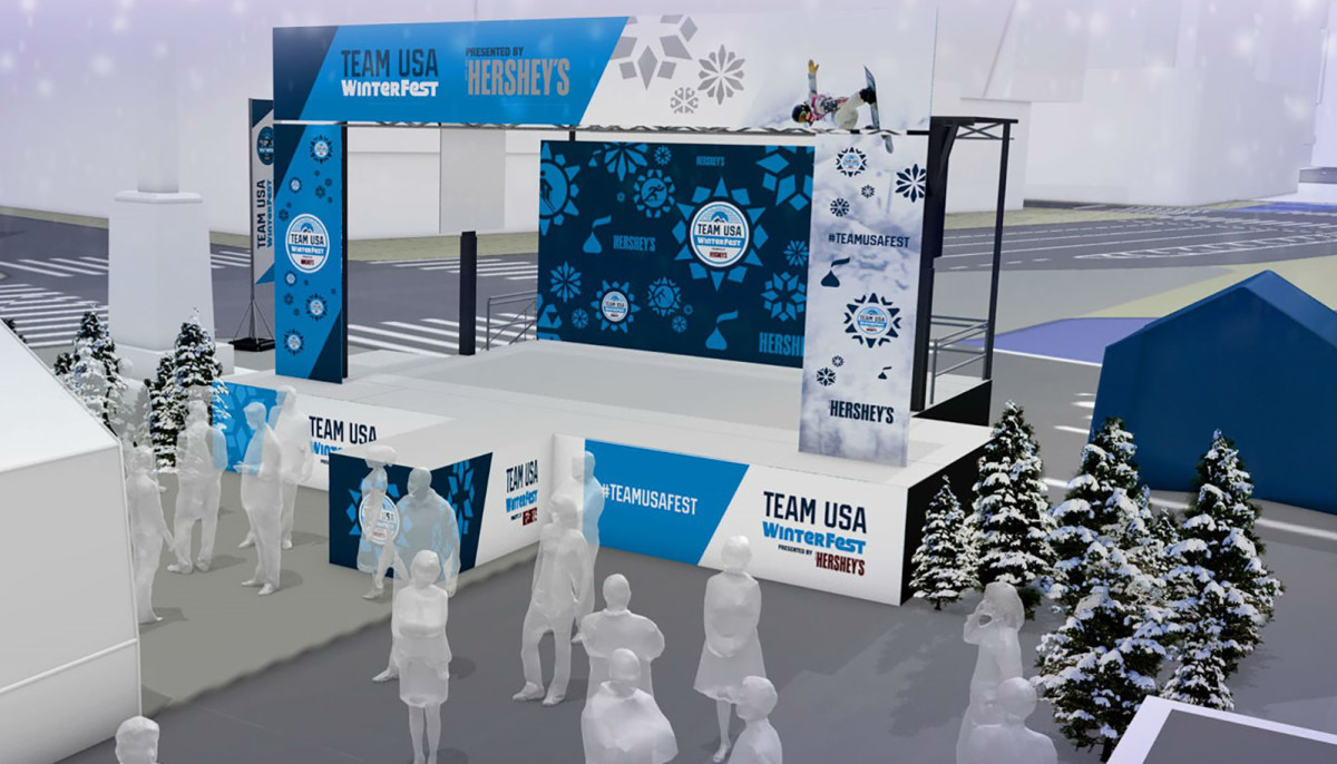 Container Haus Winterfest Hershey S Presents Team Usa Winterfest Celebration Event