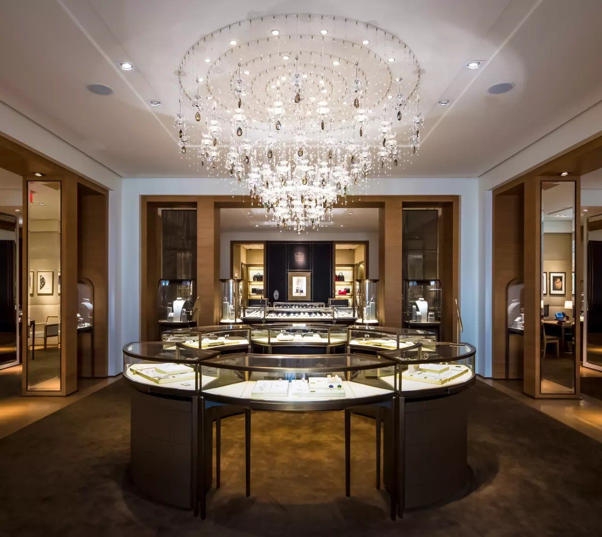 Retail Lighting Stores Sydney Inside Cartier 39s New Store 4 Other Top Jewelers Headed To