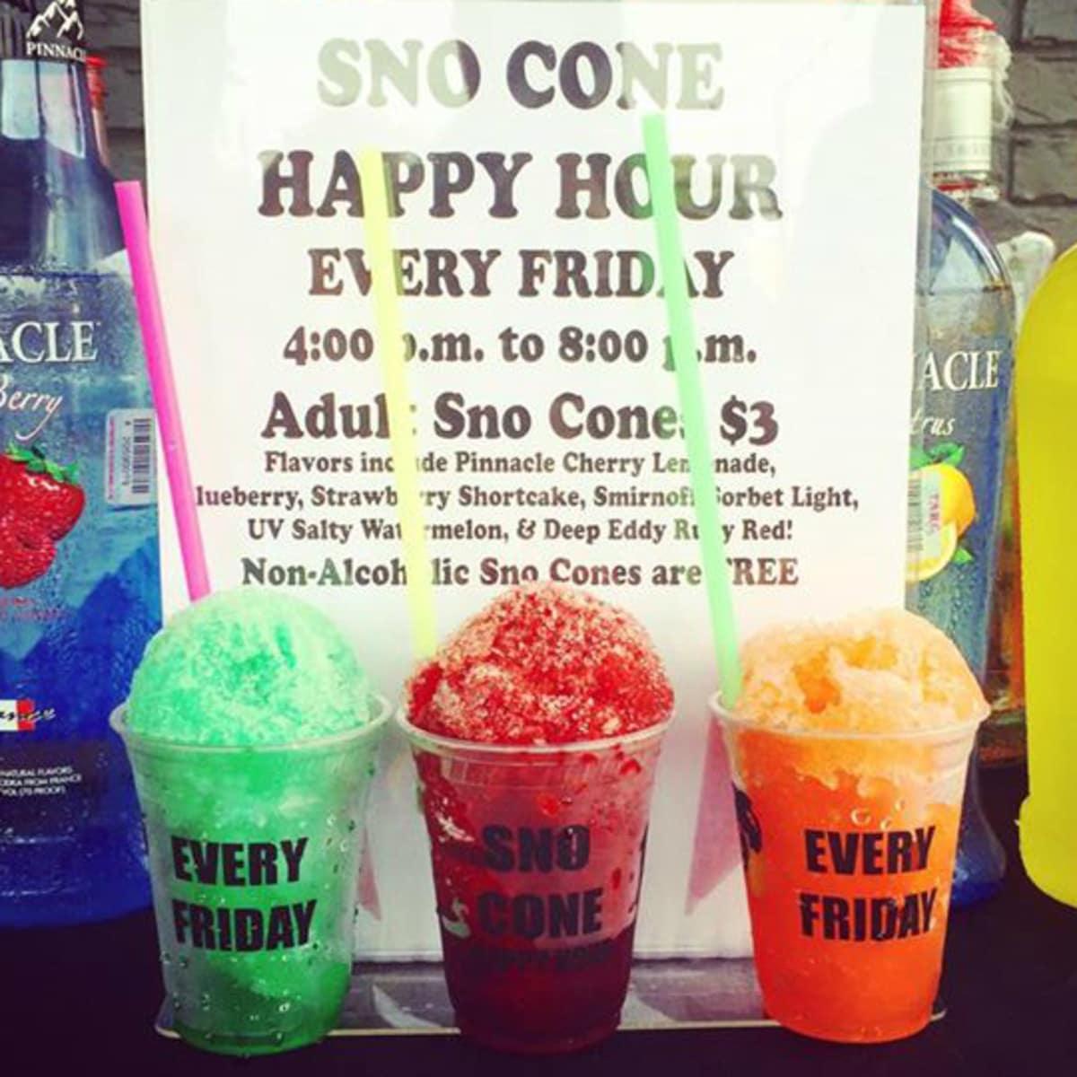 Fullsize Of Snow Cone Flavors
