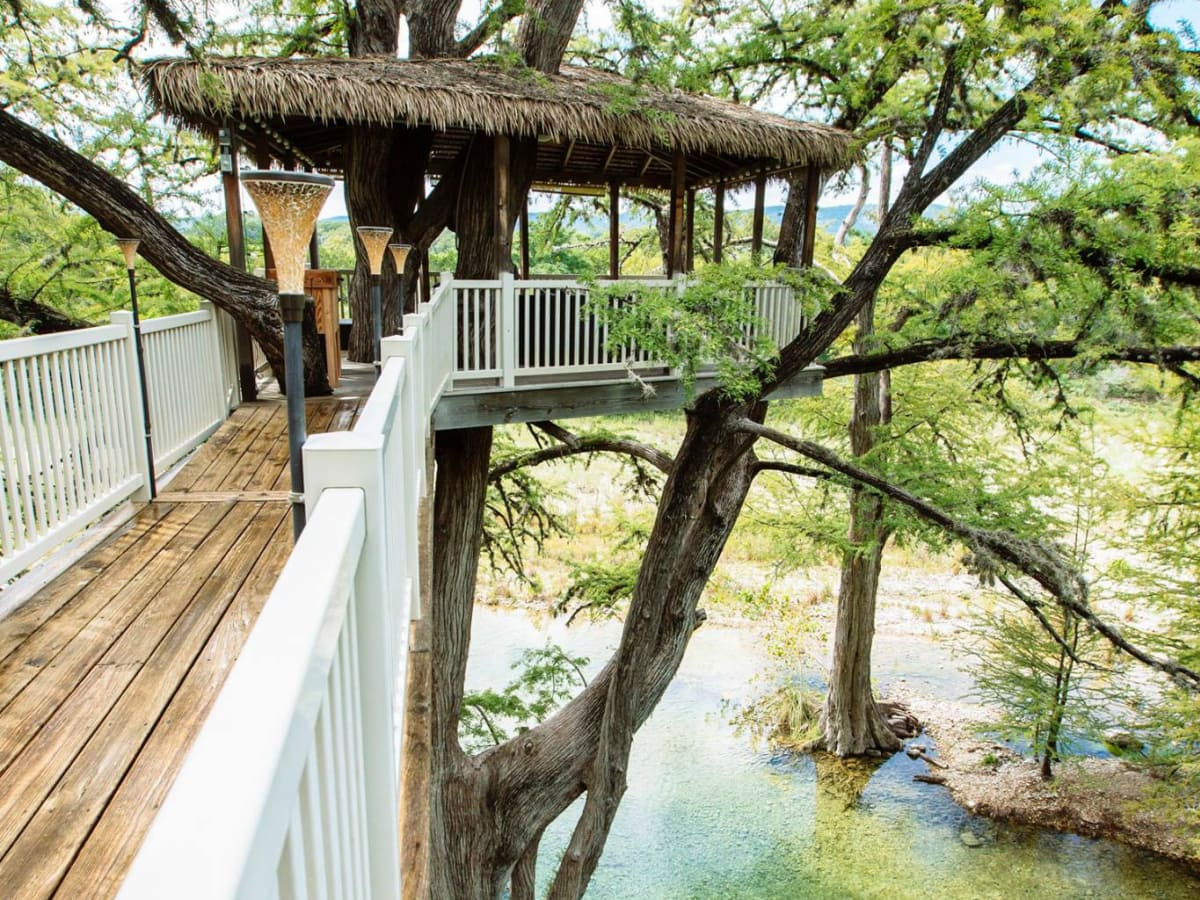 Staggering Texas Frio River Treehouses Se Texas Treehouses Take Glamping To New Heights Vacation Spots Texas Beach Vacation Spots Toddlers bark post Vacation Spots In Texas