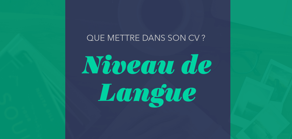 comment qualifier niveau langue cv