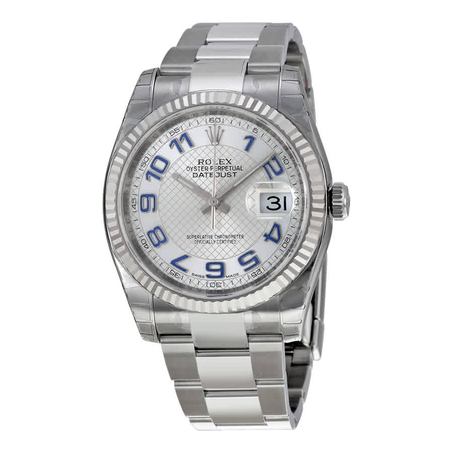 Stainless Rolex Details About Rolex Oyster Perpetual 36 Mm Silver Dial Stainless Steel Bracelet Automatic